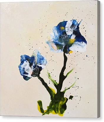 Iris Canvas Print by Mary Kay Holladay