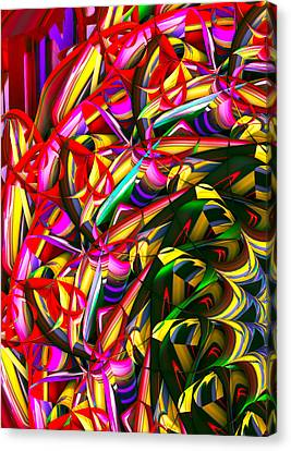Iris Wheel Canvas Print by Phill Clarkson