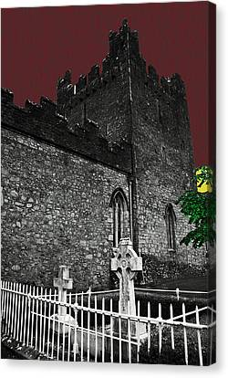 Irish Cemetery Canvas Print