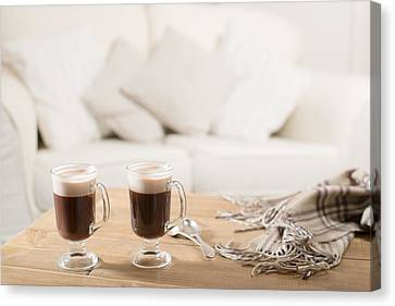 Irish Coffee Canvas Print by Amanda Elwell