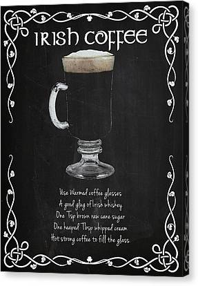 Irish Coffee Canvas Print by Mark Rogan