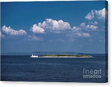 Irish Lighthouse  Canvas Print by Juergen Klust