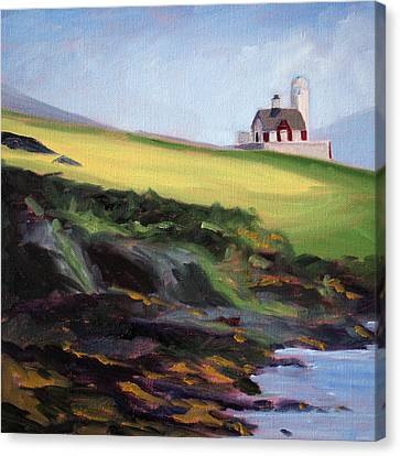 Irish Lighthouse Canvas Print
