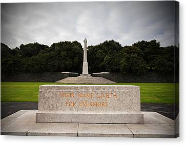 Irish National War Memorial Gardens Canvas Print by Panoramic Images