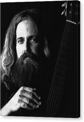 Iron And Wine Canvas Print by Justin Clark
