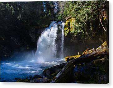 Iron Creek Falls Canvas Print by Tikvah's Hope