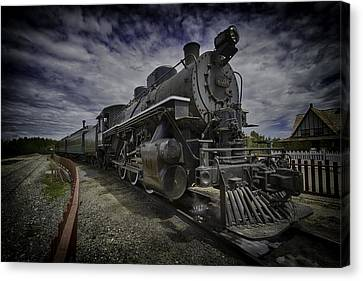 Canvas Print featuring the photograph Iron Horse by Russell Styles