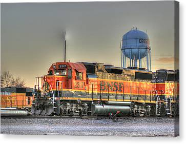 Iron Horse Canvas Print by Thomas Danilovich