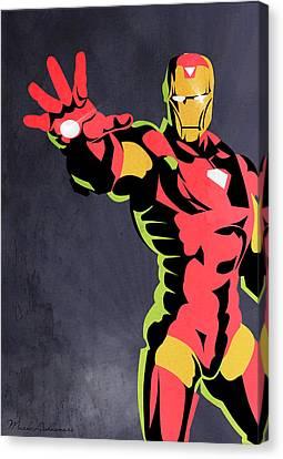 Iron Man  Canvas Print by Mark Ashkenazi