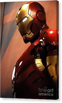 Iron Man Canvas Print by Micah May