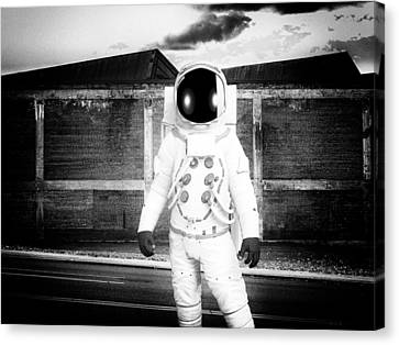 The Astronaut Homecoming Canvas Print by Bob Orsillo