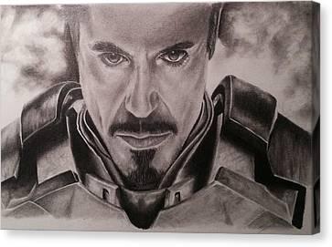 Ironman Canvas Print by Jamie Blackbourn