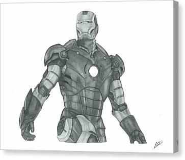 Ironman Canvas Print by Rich Colvin
