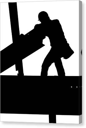 Ironworker 1 Canvas Print