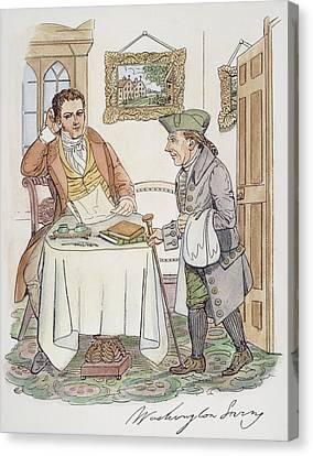 Irving & Knickerbocker Canvas Print by Granger