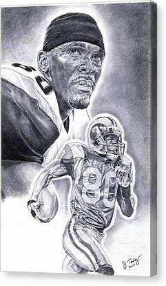 Isaac Bruce Canvas Print by Jonathan Tooley