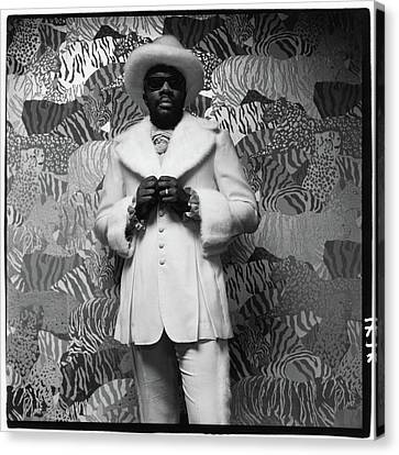 Isaac Hayes Wearing A Suit Canvas Print