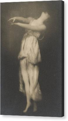 Isadora Duncan   Dancer Canvas Print by Arnold Genthe