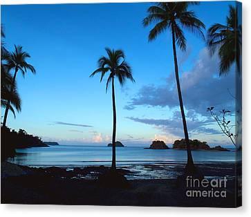 Isla Secas Canvas Print