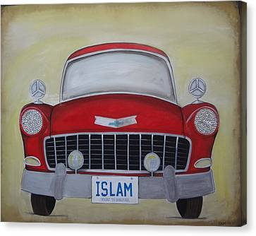 Islam Yours To Discover Canvas Print by Salwa  Najm