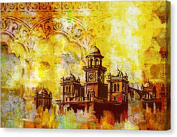 Baltit Canvas Print - Islamia College Peshawar by Catf