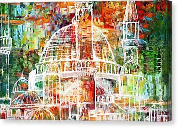 Islamic Painting 005 Canvas Print