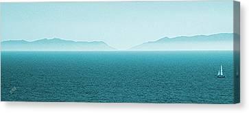 Island Canvas Print by Ben and Raisa Gertsberg