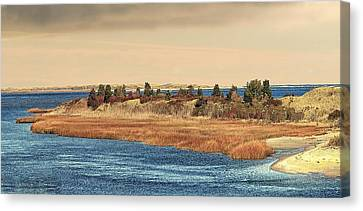 Canvas Print featuring the photograph Island Colors Photo Art by Constantine Gregory