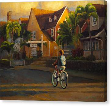 Island Commute Canvas Print by Jeanne Young