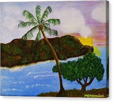 Island Escape Canvas Print