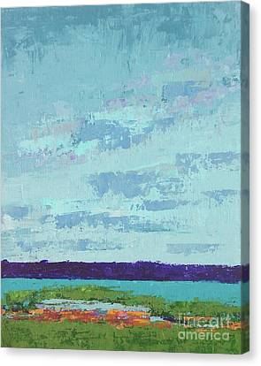 Island Estuary Canvas Print