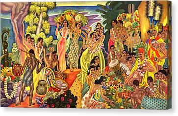 Canvas Print - Island Feast by James Temple