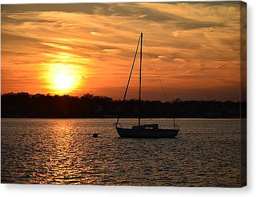 Island Heights Sunset Canvas Print