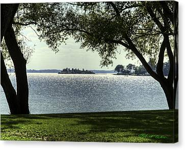 Canvas Print featuring the photograph Island Home by Robert Culver
