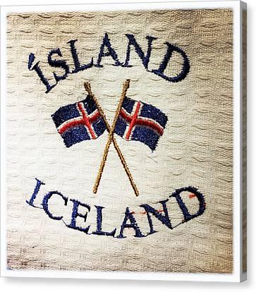 Island Iceland Canvas Print by Matthias Hauser