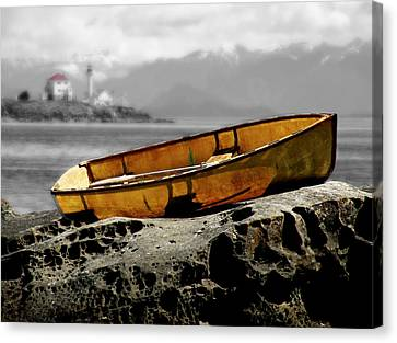 Canvas Print featuring the photograph Island Life by Micki Findlay