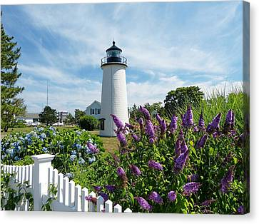 Canvas Print featuring the photograph Island Light by Elaine Franklin