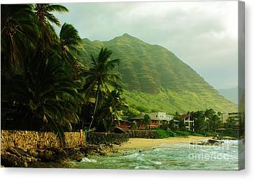 Island Living Canvas Print