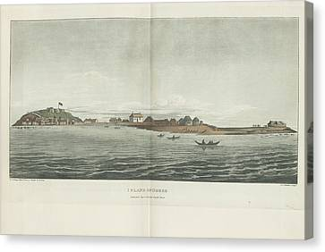 Island Of Goree Canvas Print by British Library