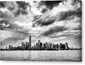 Island Of Manhattan 2013 Canvas Print by John Rizzuto