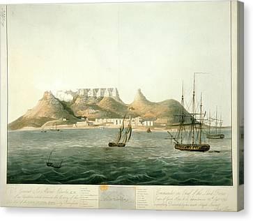 Island Of Saint Helena Canvas Print by British Library