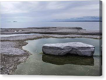 Canvas Print featuring the photograph Island On Island by Arkady Kunysz