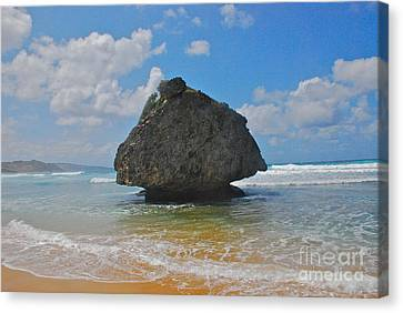 Canvas Print featuring the photograph Island Rock by Blake Yeager