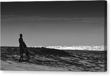 Island Surfer  Canvas Print