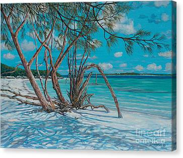 Island Time Canvas Print by Danielle  Perry