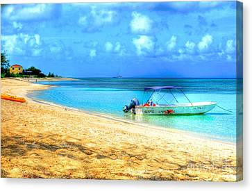 Island Time Canvas Print by Debbi Granruth