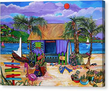 Island Time Canvas Print by Patti Schermerhorn