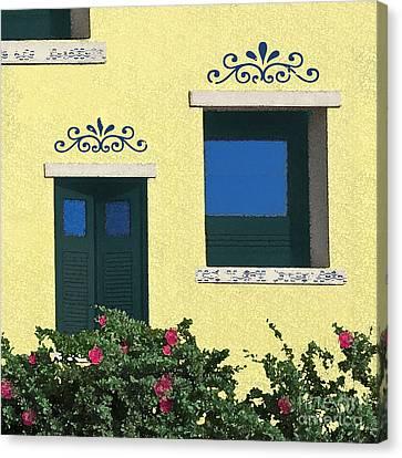 Island Windows Canvas Print by Deborah Smith