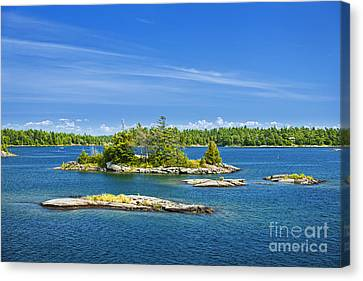 Islands In Georgian Bay Canvas Print