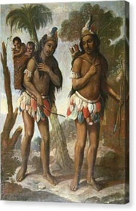 Islas, Andr�s De 18th C.. Barbarian Canvas Print by Everett